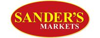 Sanders Market store logo.